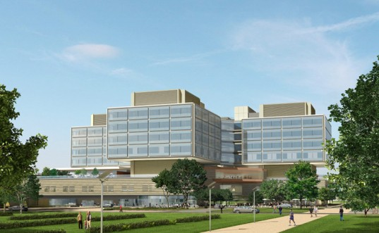 Stanford Hospital Conceptual drawing