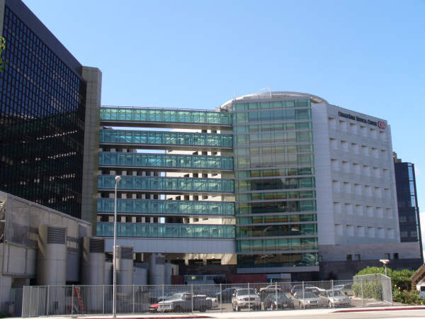 Cedars-Sinai Medical Center Front-View