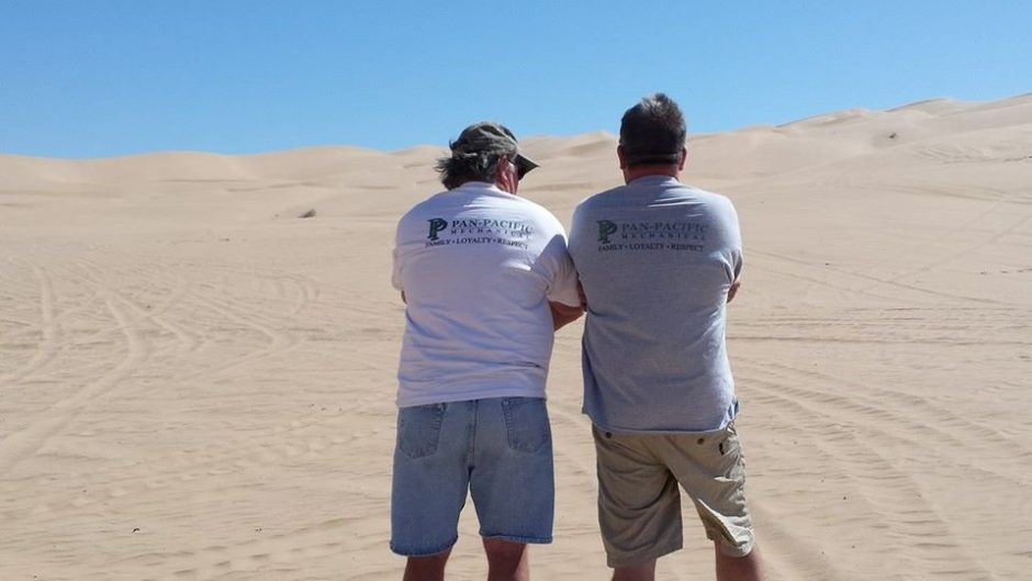 Glamis 3-14-15 Frank V & Mike L PPM