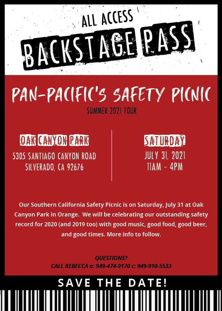 Safety Picnic SoCal 2021